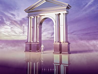 TRIUMPH. CGI cgartist cg art cgart 3d art c4dart fog sky trend light triumph architecture inspiration digital art digital art 3d cgi cinema4d c4d