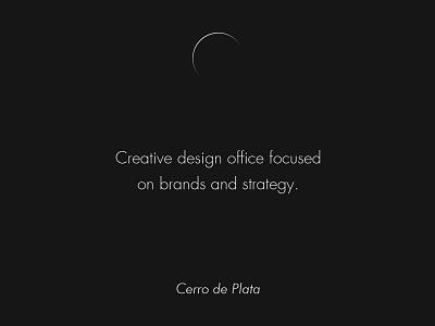 Cerro de Plata black moon strategy branding mexico design logo