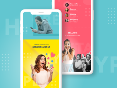 """""""Famous"""" mobile app"""
