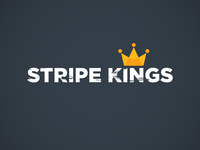 Stripe Kings Logo