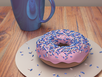 My First 3D Render