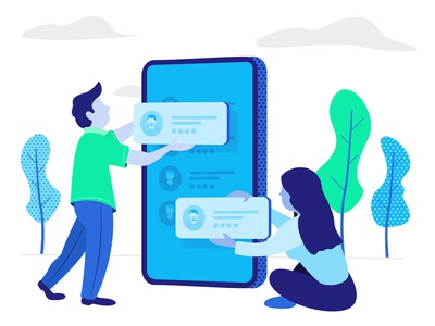 Contacts Plus Illustrations