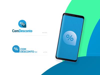 Comdesconto Logo Redesign
