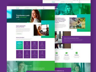 Website Ânima Educação