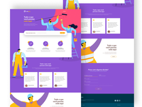 catajob onepage site