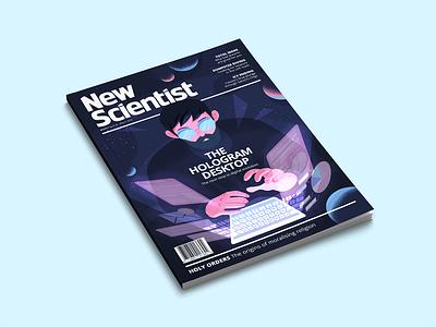 New Scientist Magazine Cover new scientist magazine layout magazine design magazine cover vector design illustration illustration art digital illustration illustrator graphicdesign editorial illustration