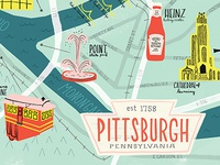 Pittsburgh map!