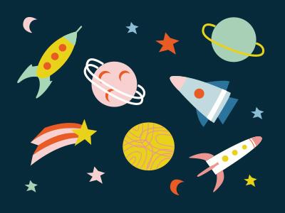 Cute Space Stuff