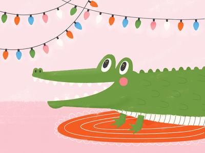 Christmas Gator