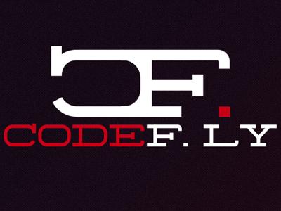 Codefly Logo logo typography text design graphic