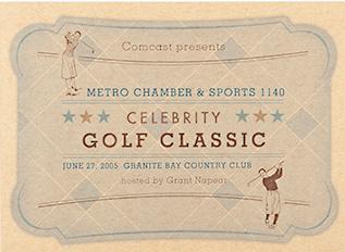 Golf Classic Items graphic design fun argyle