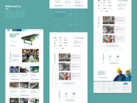Website for a conveyor systems solutions company