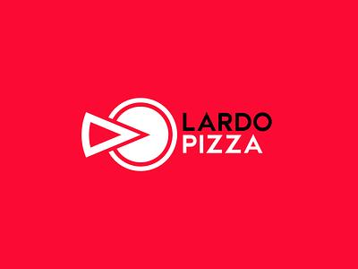 Logo Lardo Pizza design branding redesign rebranding rebrand logo design logodesign logotype logos logo