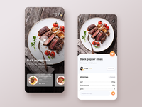 Cooking Concept Page Design