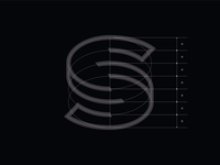 Letter S - Wireframe