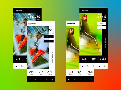 Daily UI 006 • User Profile design concept uidesign ui design ui
