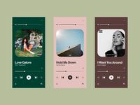 Daily UI 009 • Music Player dailyuichallenge dailyui uidesign concept ui