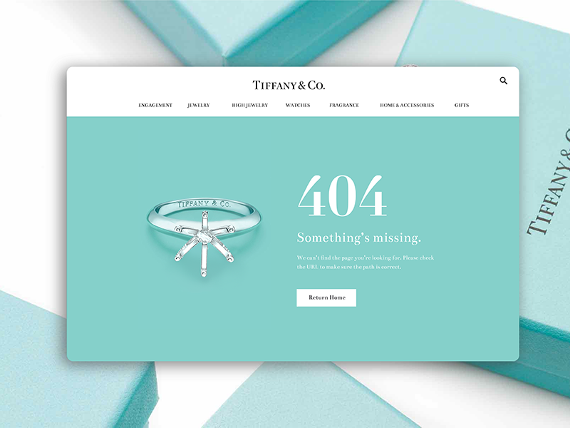 Daily Ui Challenge 008 - 404 Page website ui 008 card photoshop error 404 web tiffanys challenge daily dailyui