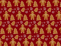 Wrapping Paper Contest- Gingerbread