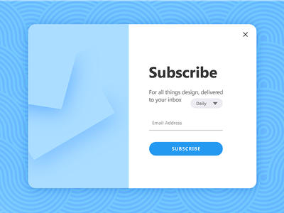 Daily Ui Challenge 026 - Subscribe email popup modal card subscribe 026 ui challenge daily ui daily