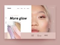 Glossier Homepage