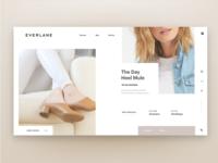 Everlane Webpage
