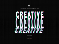 Daily UI 039 - Quote