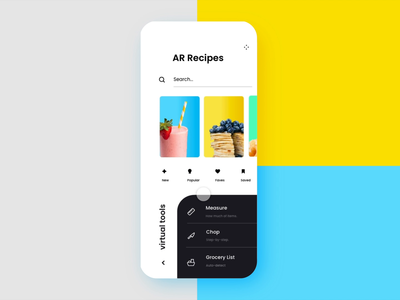 Augmented Reality Recipe App (Automated Hack #25)