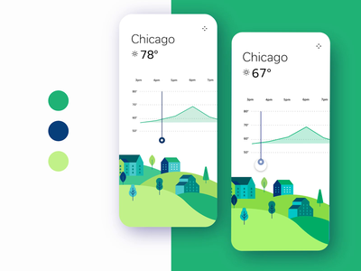 ☁️Animated Weather App movie tutorial adobe xd blending mode light mode dark mode dark and light mobile ux ui daily slider temperature city spin weather animation video prototype animated