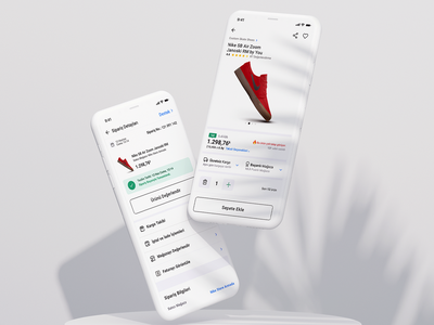 Flawless eCommerce experience... e-commerce ecom ecommerce startup 6noran ui ux mobile clean design