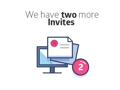2x Dribbble Invites dribbble available starup talented free invitation invites invite 6noran