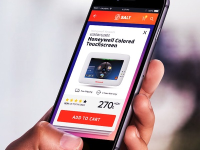 Salt Security Mobile UI responsive starup mobile ui mobile design inspiration design ui mobile security salt 6noran