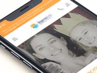 Insurance portal mobile design