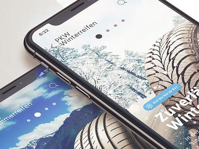 Mobile eCommerce Case Study mockup inspiration mobile design uidesign clean tire startup ecommerce ecom 6noran