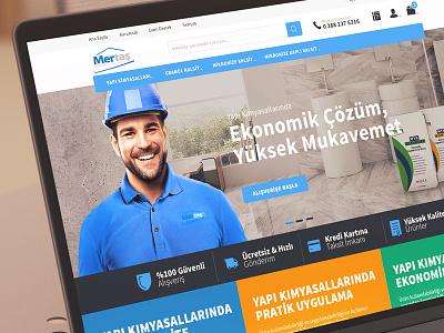 eMertas E-Commerce ux 3d flat ui design clean 6noran