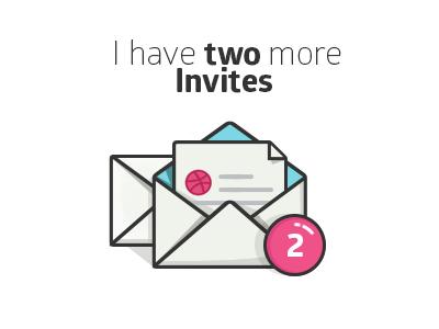 Go get your dribbble invitation! invitations invitation design brands invites invite art