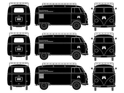 Barndoor illustration illustraion bus volkswagen