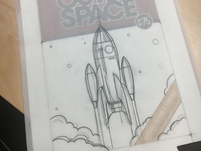 Step 1: sketch sketch illustration