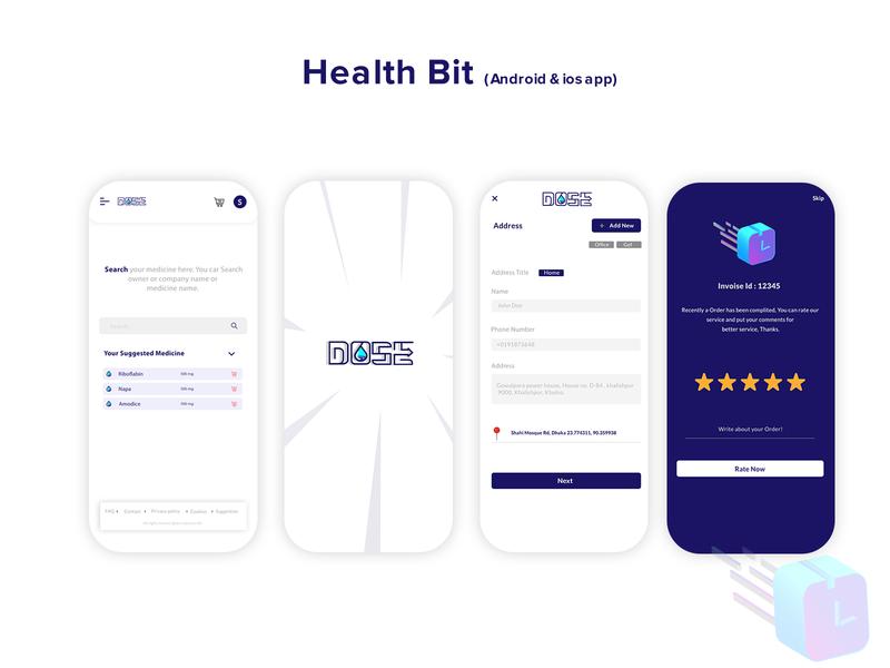 Medicine supply app