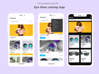 Eyeglass Saleing and tracking Product App