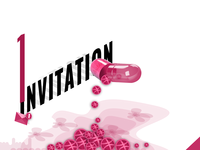 Dribbble invitation Pill