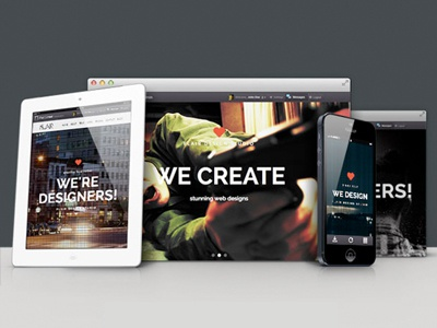 Flair - One Page Responsive Html5 Template themeforest responsive html5 themes bootstrap3