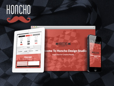Honcho - One Page Responsive Html5 Template themeforest responsive html5 themes bootstrap3