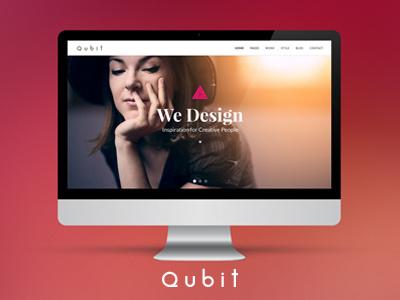Qubit bootstrap html5 business creative boostrap template
