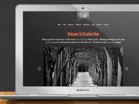 Creative Flow - One Page Portfolio Template