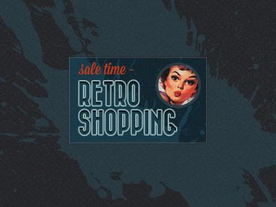 Retro Banner Ad retro vintage banner ad