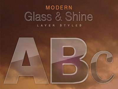 Free Modern Glass & Shine Layer Styles glass layer styles free layer styles free freebies layer styles free psd free files