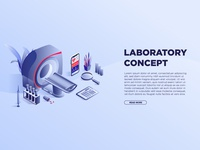 Medical landing page design templates