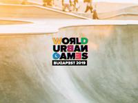 World Urban Games Budapest logo animation