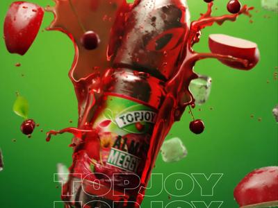 Motionblur Studios showreel 3dsmax vector art motionblur liquidmotion design after effect green liquid drink apple render 3d fruit simulation animation showreel